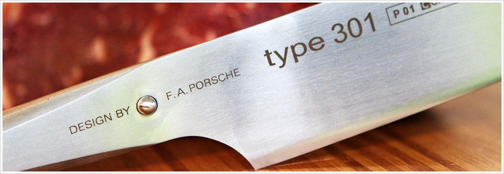 Chroma Japanese Kitchen Knives by FA Porsche