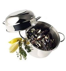 Paderno Black Steel Cookware & Pans