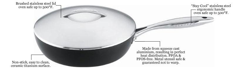 Scanpan, Scanpan cookware, Scanpan pro, Scanpan professional, non stick cookware