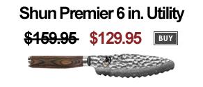 Shun, Shun knife on sale, shun sale price, shun Premier Ultimate Utility