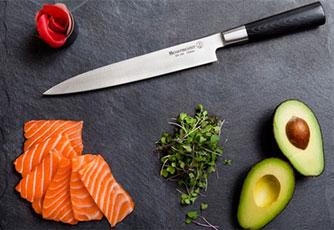 Suncraft knife, Mu knives, Suncraft knives, Messermeister, Suncraft Fusion knife