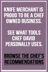 knife merchant, chef david holly