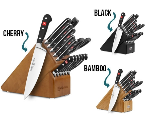 Wusthof Classic 15 Piece Knife Block Set