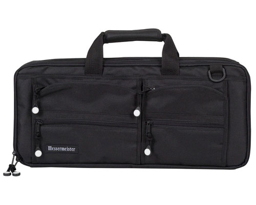 Messermeister 18 Slot Knife Bag- Black
