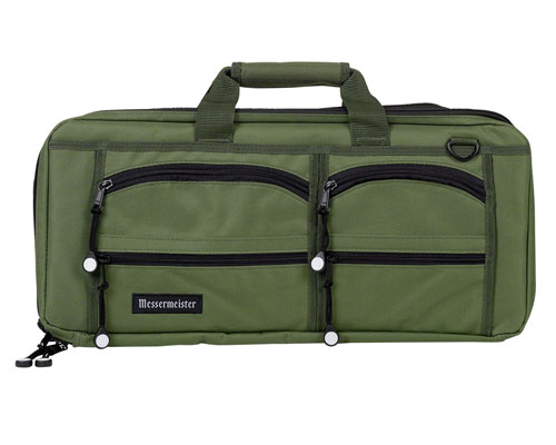 Messermeister 18 Slot Bag- Olive