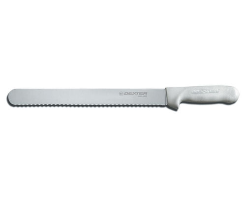 Dexter Sani-Safe 12 in. Scalloped Roast Slicer