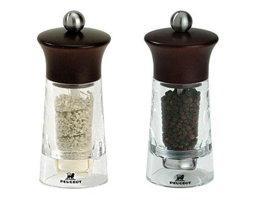 peugeot vendome chocolate salt u0026 pepper mill set