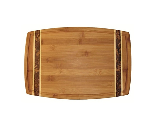 Totally Bamboo Medium Marbled Cutting Board