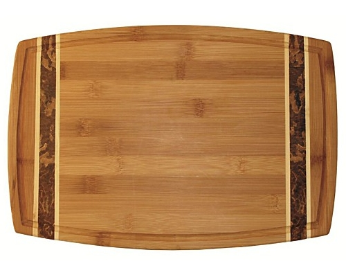 Totally Bamboo 18 in. Marbled Bamboo Board