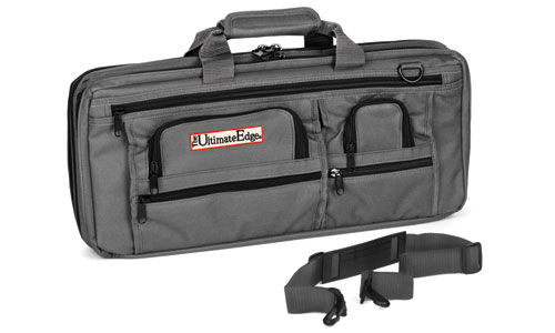 Ultimate Edge Evolution Deluxe 18 Slot Knife Bag, Graphite