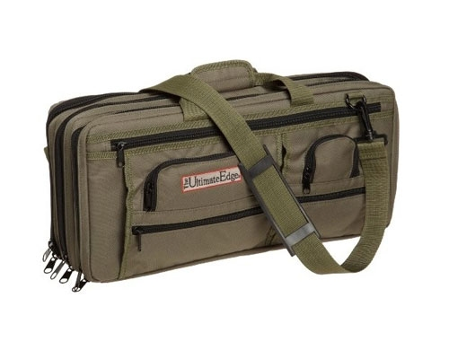 Ultimate Edge Evolution Deluxe 18 Slot Knife Bag, Olive
