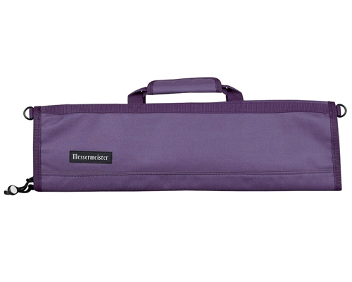 Messermeister 8 Slot Plum Knife Bag
