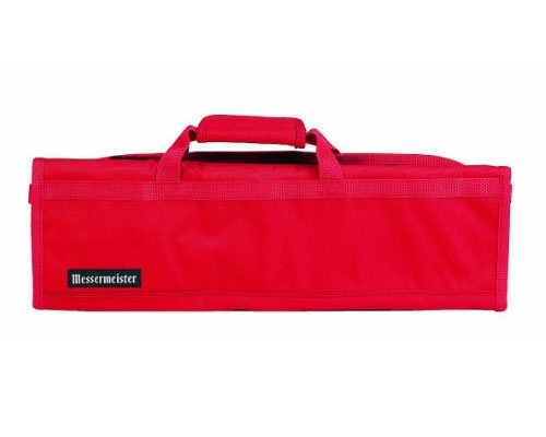 Messermeister 8 Slot Red Knife Bag