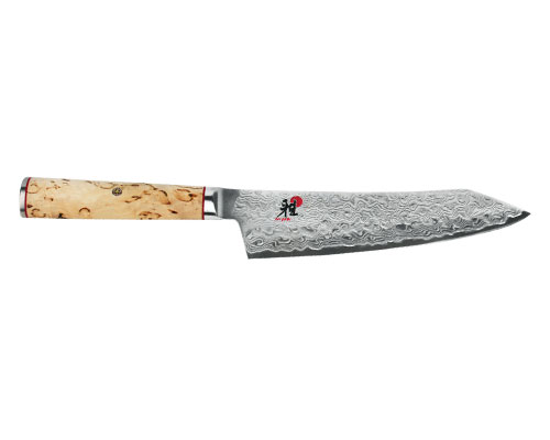 Miyabi Birchwood 7 in. (180mm) Rocking Santoku