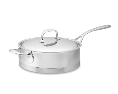 Demeyere Atlantis 9.4 in. Low Saute Pan <font color=red>On Sale</font>