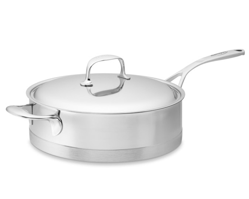 Demeyere Atlantis 11 in. Low Saute Pan