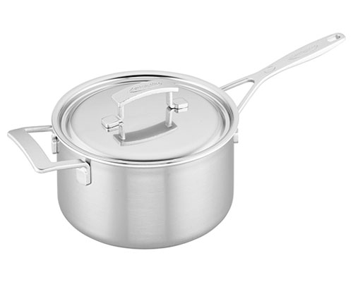 Demeyere Industry 4-QT. Saucepan and Lid