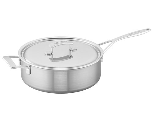 Demeyere Industry 6.5-QT. Saute Pan and Lid
