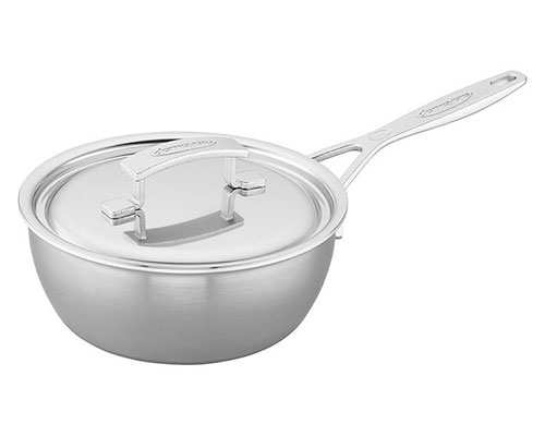 Demeyere Industry 2-QT. Saucier Pan and Lid