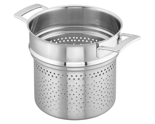 Demeyere Industry 8-QT. Pasta Insert (for 8-Qt. Stock Pot)