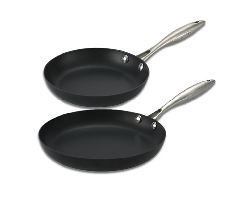 Scanpan Pro 2 pc Fry Pan Set (9.5 in. and 11 in.) <font color=red>On Sale</font>