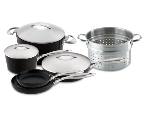 Scanpan Professional 9 Piece Cookware Set <font color=red> Closeout</font>