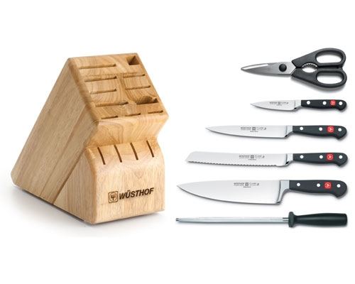 Wusthof Classic 7pc Block Set