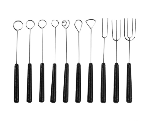 Thermohauser 10pc Chocolate Dipping Tools