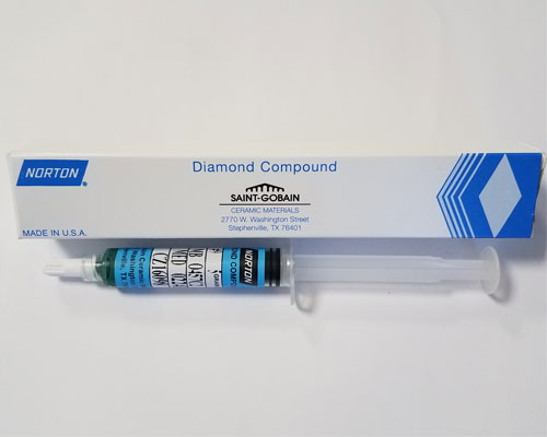 Norton Diamond Compound Green Grade 9, 5 gram syringe