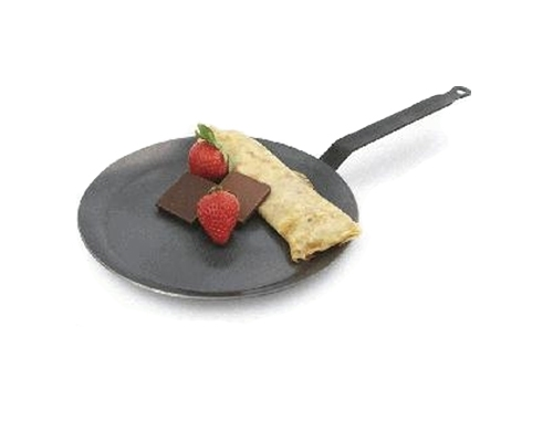Paderno 7 1/8 in. Carbon Steel Crepe Pan