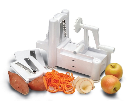 Paderno Tri-Blade Spiral Vegetable Slicer