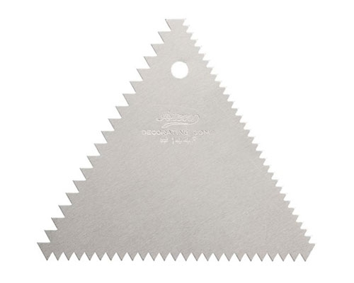 Ateco Triangular Decorating Comb