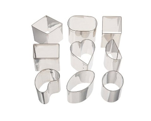 Ateco 9pc Petit Four Cutter Set