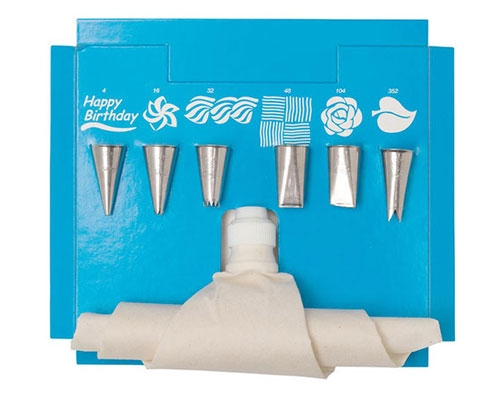 Ateco 8pc Cake Decorating Set
