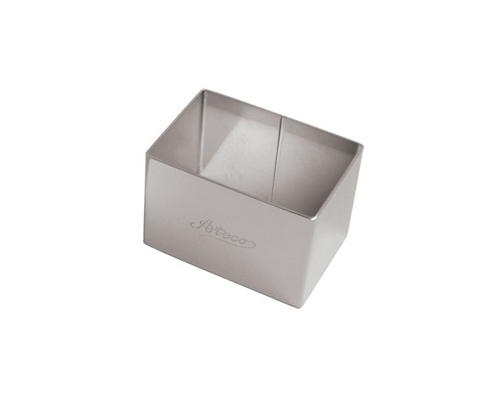 Ateco 2 1/2 in. x 1 3/4 in. Stacking Rectangle