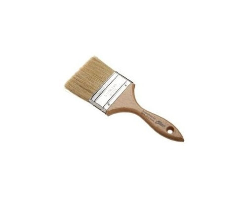Ateco 1 in. White Boar Bristle Pastry Brush