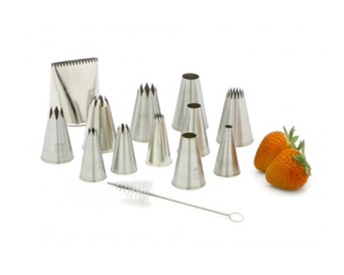 Ateco 12 pc Large Tube Set