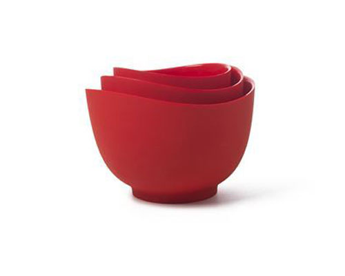 iSi 3pc Silicone Mixing Bowl Set