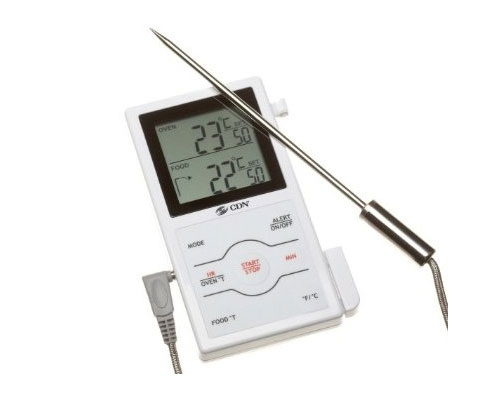 Dual Sensing Probe Thermometer and Timer