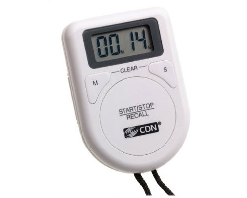 CDN Thermometers Digital Timer on a Rope