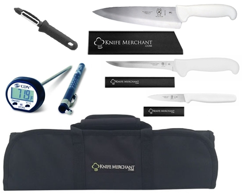 Mercer White Culinary Set