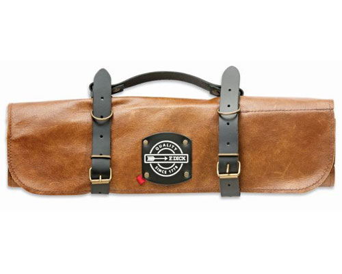 F. Dick 5 Slot Leather Knife Roll