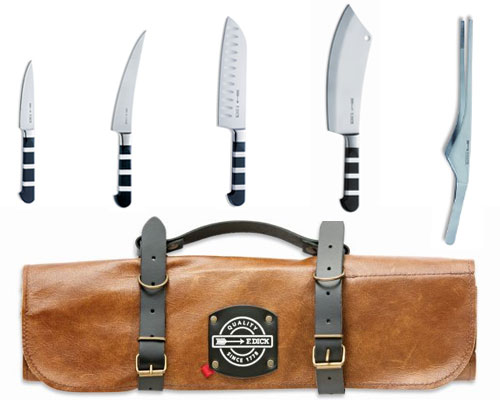 F. Dick 1905 Series 6pc Knife Roll Set