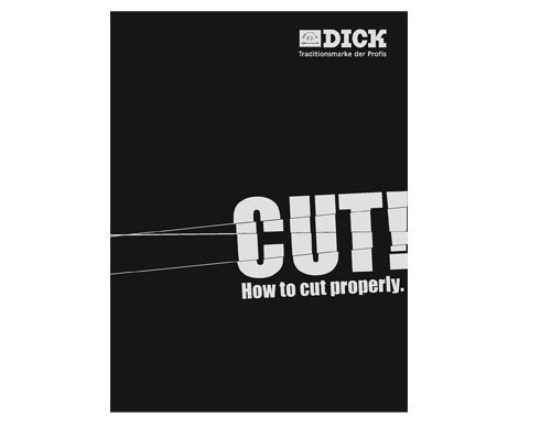 F. Dick Cut Book ''How to Cut Properly''