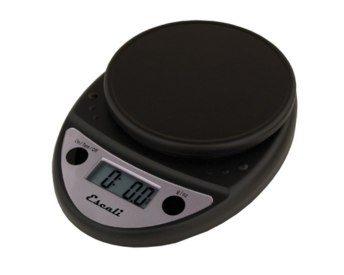 Escali Primo Digital Scale, Black