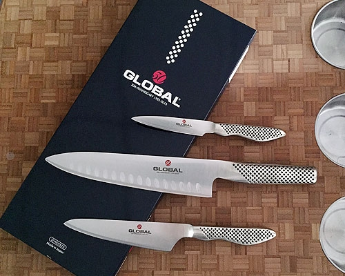 Global 3 Pc. Knife Set <font color=red> On Sale</font>