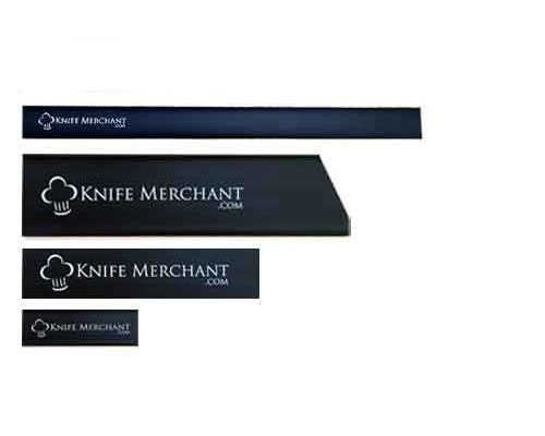 Knife Merchant 4 Piece Edge Guard Set with 8 in. Chef Knife Guard