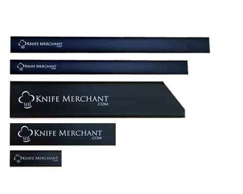 Knife Merchant 5 Piece Edge Guard Set with 10 in. Chef Knife Guard
