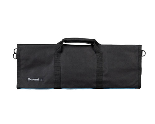 Messermeister 12 Slot Cordura Knife Bag- Black