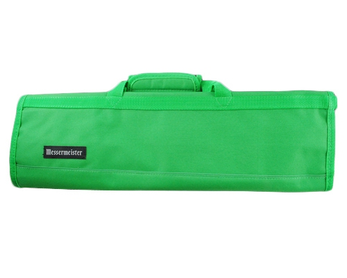 Messermeister 8 slot Green Knife Bag